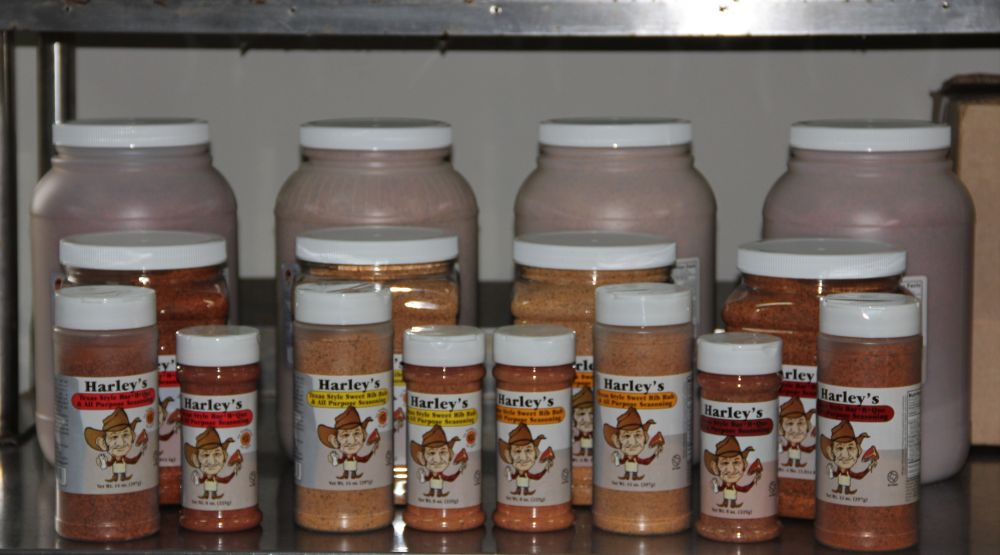 preview of all seasonings in bottles