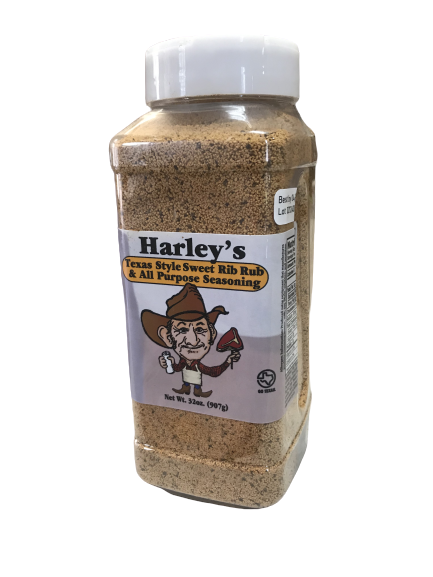 Harley's SWEET Rib Rub (Size: 32 oz)