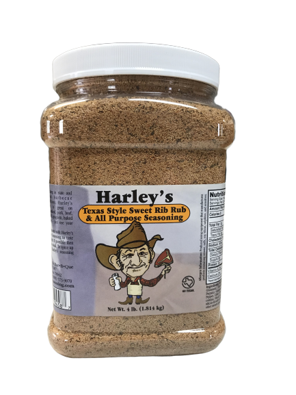 Harley's SWEET Rib Rub (Size: 1/2 Gallon)