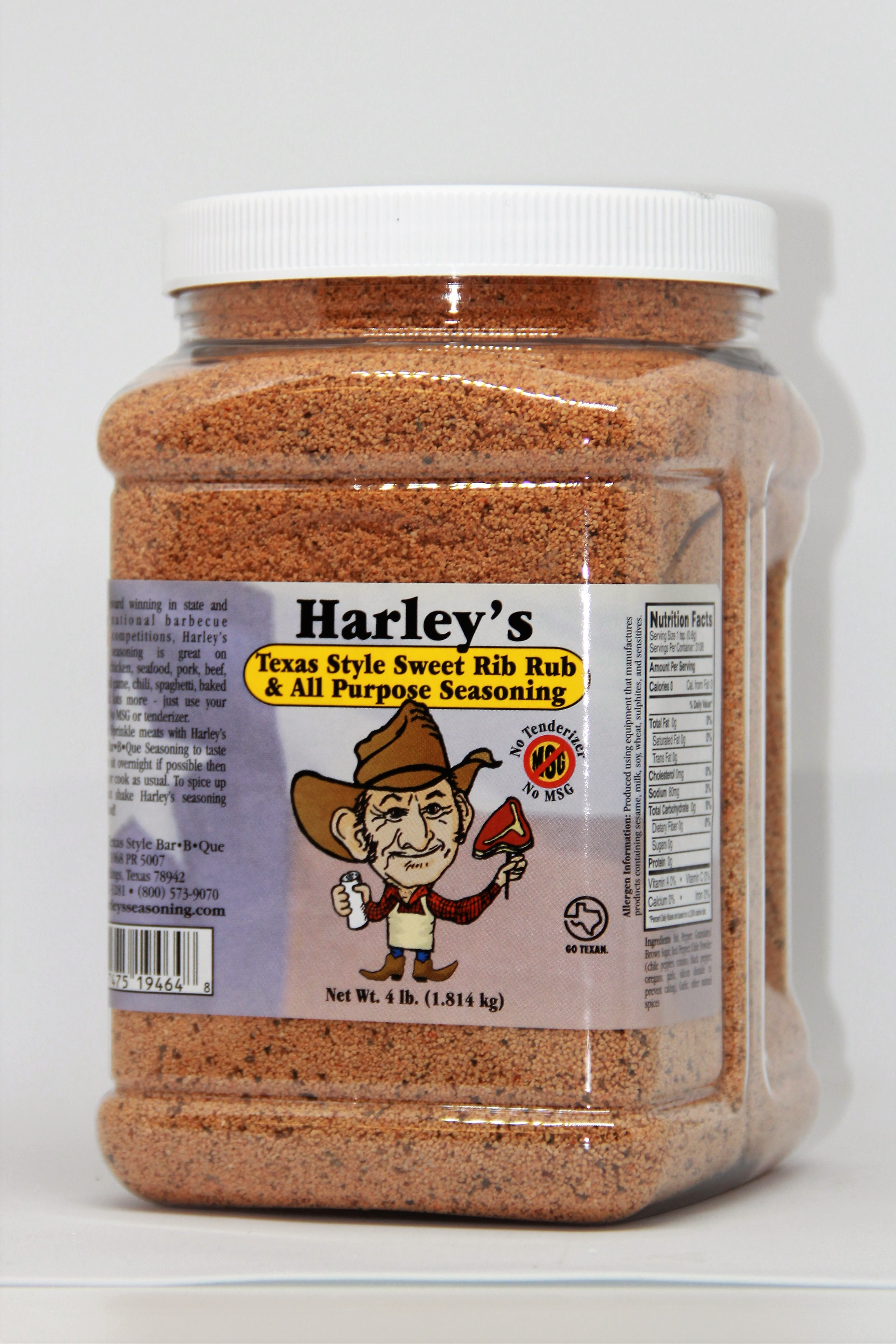 Harley's Sweet No MSG No Tenderizer (Size: 1/2 Gallon)