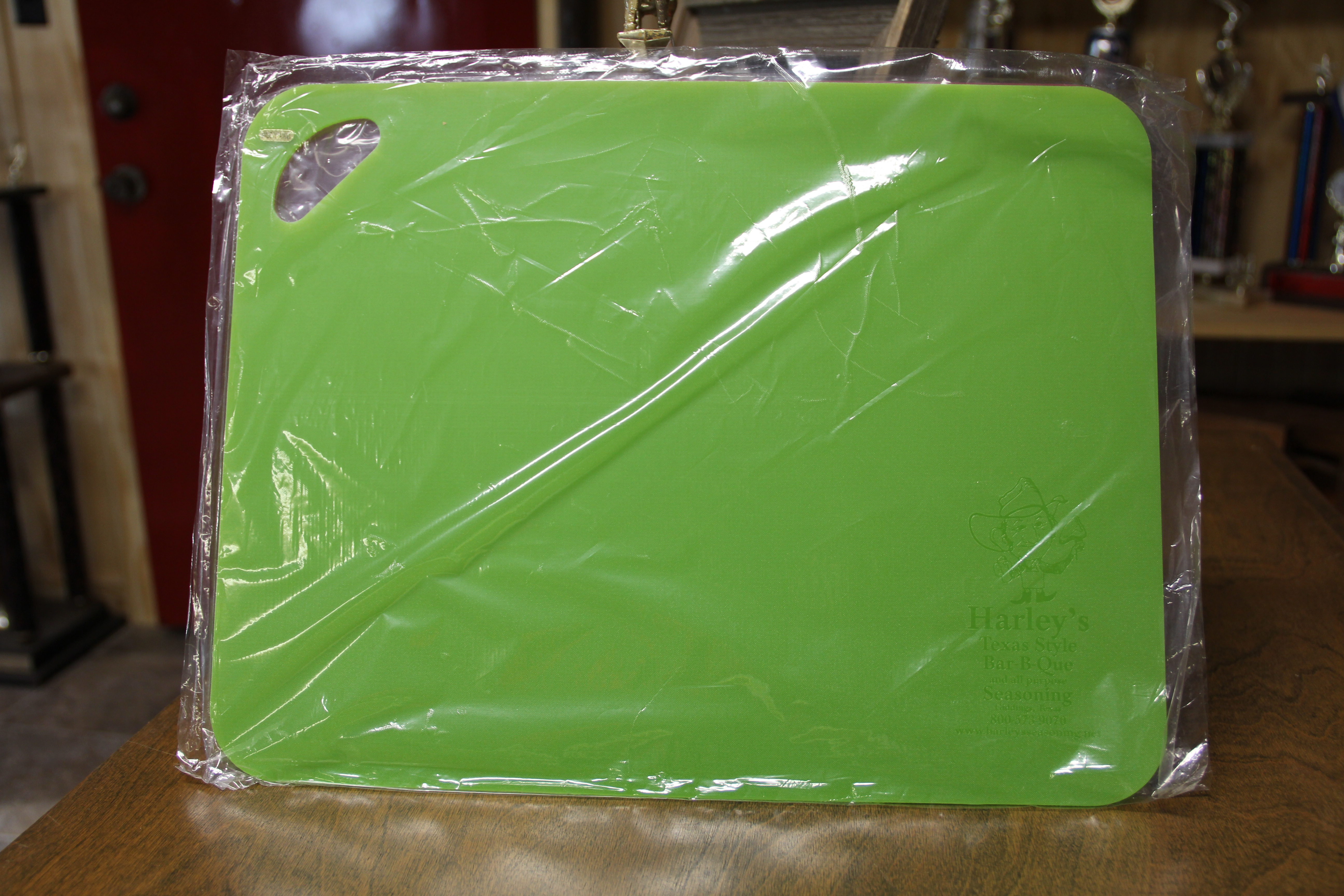 Harley's Cutting Board (Cutting Board Colors: Lime Green)
