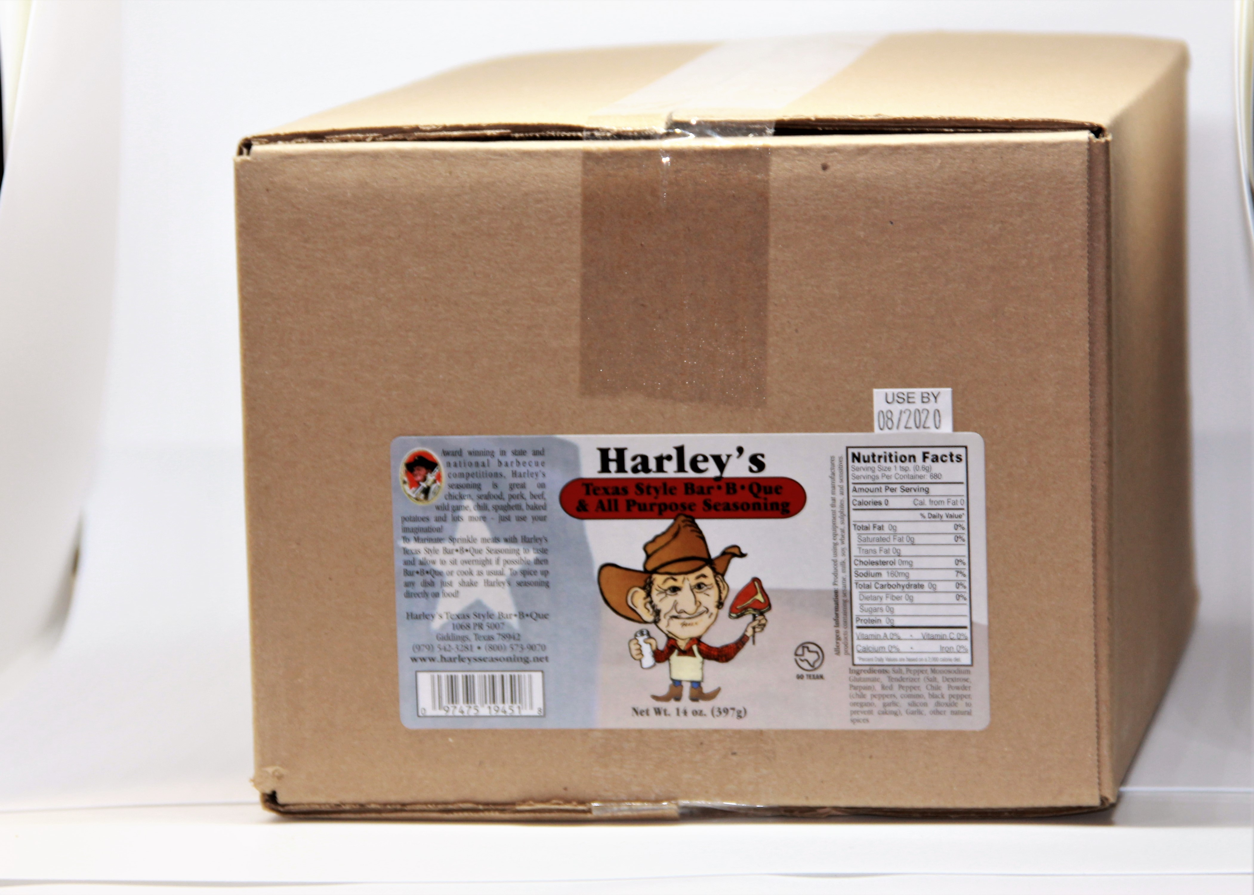 Harley's Original Seasoning (Size: Case of 14 oz bottles (12 bottles))