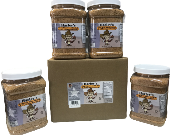 Harley's SWEET Rib Rub (Size: Case of 1/2 gallons (4 containers))