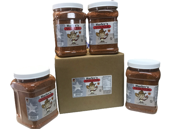 Harley's No MSG No Tenderizer (Size: Case of 1/2 gallons (4 containers))