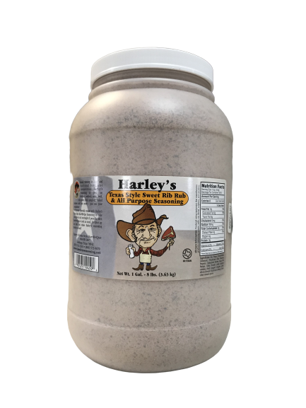 Harley's SWEET Rib Rub (Size: Gallon)